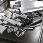 Technical metal and plastic parts